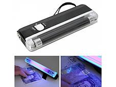 Компактный портативный карманный  ультрафиолетовый детектор валют на батарейках DL-01, фото 3