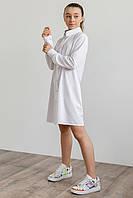 Рубашка для девочки капсульная коллекция.