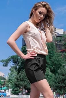 Черные короткие шорты Клайм софт