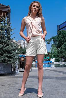 Белые повседневные шорты Клайм софт