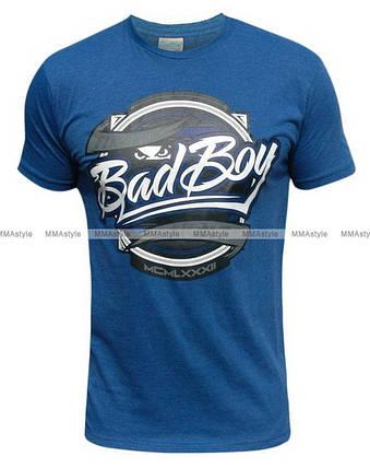 Футболка Bad Boy Showdown Tee - Blue, фото 2