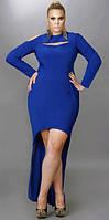 Трикотажное платье Royal Lusien большого размера
