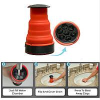 Ручной плунжер вантус для раковины Water Drain Clog Cannon