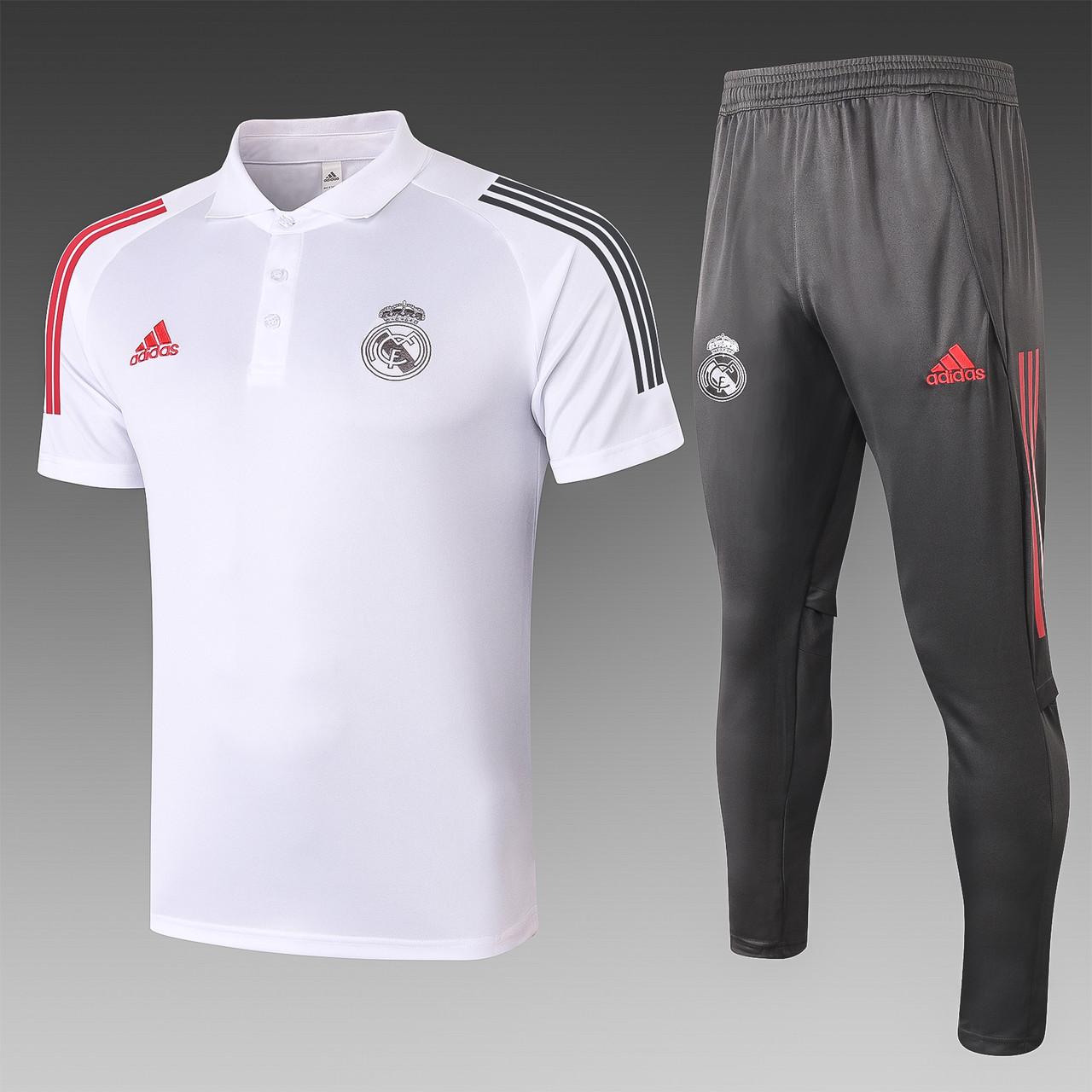 Летний тренировочный костюм Реал Мадрид Real Madrid 2020-21 (3 цвета)