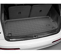 Резиновые коврики WeatherTech в багажник для авто Audi Q7 2016+ (за 3-м рядом сидений)