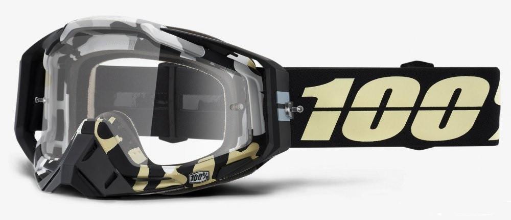Мотоочки RIDE 100% RACECRAFT ergoflash - clear lens