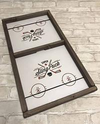 Настольный хоккей Sling Puck Игра-антистресс Футбол на штангах