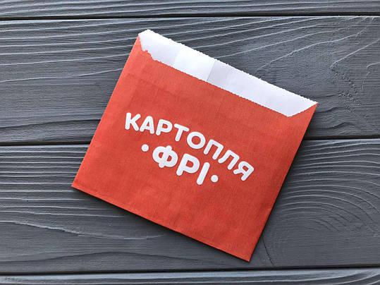 Упаковка для картофеля фри мини (70-100г) 280Ф, фото 2