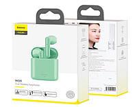 Беспроводные наушники BASEUS Encok W09 TWS Wireless Зеленые