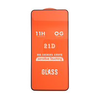 Защитное стекло 21D Full Glue для Motorola Moto G8 Power черное 0,3 мм в упаковке