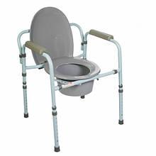 Doctor Life 10595. Стілець туалетний зі спинкою арт.10595