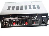 Усилитель UKC Public Address PA-329BT 5721 с караоке и пультом