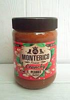 Арахисовое масло с кусочками арахиса Monterico, 500гр