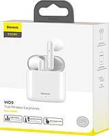 Беспроводные наушники BASEUS Encok W09 TWS Wireless Белые