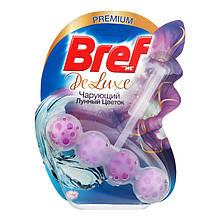 Твердый туалетный блок Bref De Luxe Чарующий лунный цветок 50 г