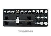"""Набір ключів для зливної пробки YATO 3/8"""" 10 мм 18 шт"""