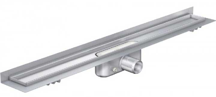 Душевые трапы Aco Трап с вертикальным фланцем, низкий сифон Aco ShowerDrain C-line 985 мм 408767