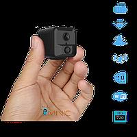 Wi-Fi мини камера CAMSOY S9+ с автономной работой до 1 года, с PIR датчиком движения и ночной подсветкой, фото 1