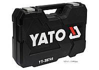 """Набір головок торцевих YATO 1/2"""" М10-32 мм з інструментами 25 шт"""