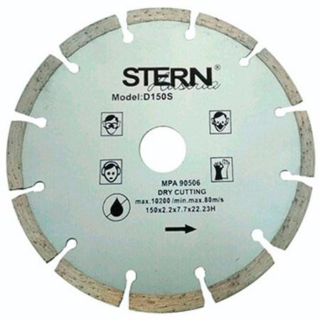 Диск алмазный отрезной Stern 150мм S