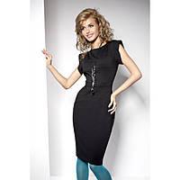 Стильное деловое черное платье от производителя