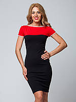 Красно-черное платье от Lusien