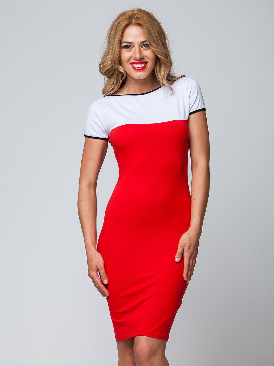 Бело красное платье от Lusien , фото 1