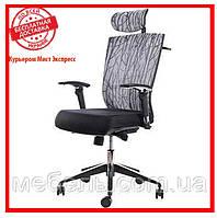 Офисное компьютерное кресло Barsky ECO chair Grey G-3