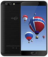 Смартфон Allcall Atom black 2/16 гб черный с металлическим корпусом и двойной камерой на 2 sim