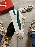 Жіночі кросівки Puma Cali Sport Heritage White/Teal., фото 4