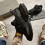 Жіночі кросівки Balenciaga Track Triple Black., фото 3