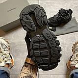 Жіночі кросівки Balenciaga Track Triple Black., фото 5
