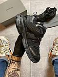 Жіночі кросівки Balenciaga Track Triple Black., фото 6