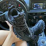 Жіночі кросівки Balenciaga Track Triple Black., фото 7