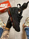 Чоловічі кросівки Nike LeBrone 15 Black, фото 3