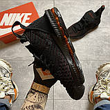 Чоловічі кросівки Nike LeBrone 15 Black, фото 5