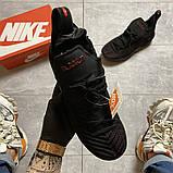 Чоловічі кросівки Nike LeBrone 15 Black, фото 8