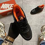 Жіночі кросівки Nike Air Force 1 Shadow Black Orange., фото 4