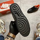 Жіночі кросівки Nike Air Force 1 Shadow Black Orange., фото 8
