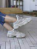 Жіночі кросівки Adidas Yeezy 500, фото 3
