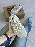 Жіночі кросівки Adidas Yeezy 500, фото 4