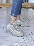 Жіночі кросівки Adidas Yeezy 500, фото 7