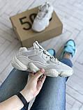 Жіночі кросівки Adidas Yeezy 500, фото 8
