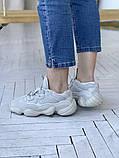 Жіночі кросівки Adidas Yeezy 500, фото 9