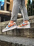 Мужские и женские  кроссовки Nike Air Force 1, фото 5