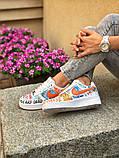 Мужские и женские  кроссовки Nike Air Force 1, фото 9