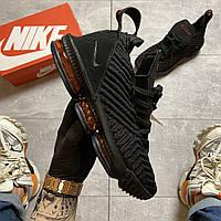 Мужские кроссовки Nike LeBrone 15 Black