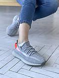 Женские кроссовки Adidas Yeezy 350 v2, фото 3