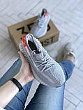 Женские кроссовки Adidas Yeezy 350 v2, фото 4