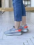 Женские кроссовки Adidas Yeezy 350 v2, фото 6